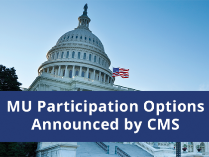 CMS Will Allow Practices to Pick Their Pace for the Quality Payment Program in 2017