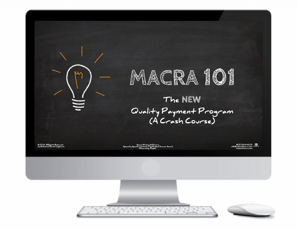 MACRA Computer Screen