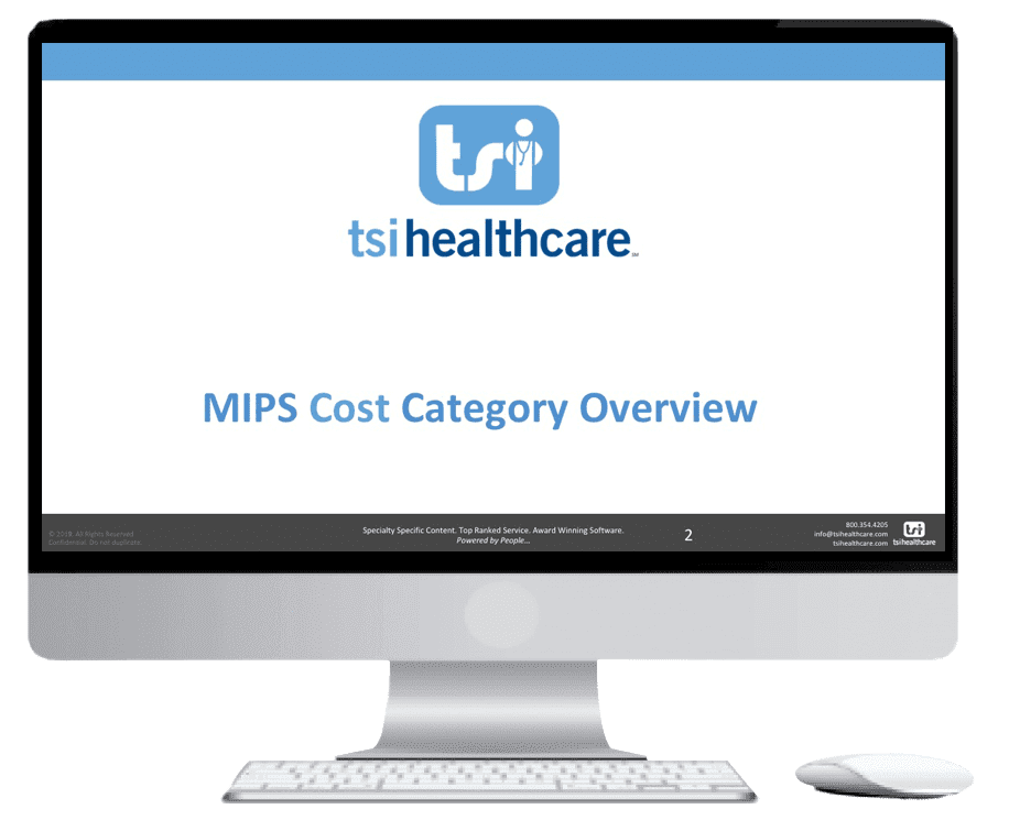 MIPS Year 3 Cost Category